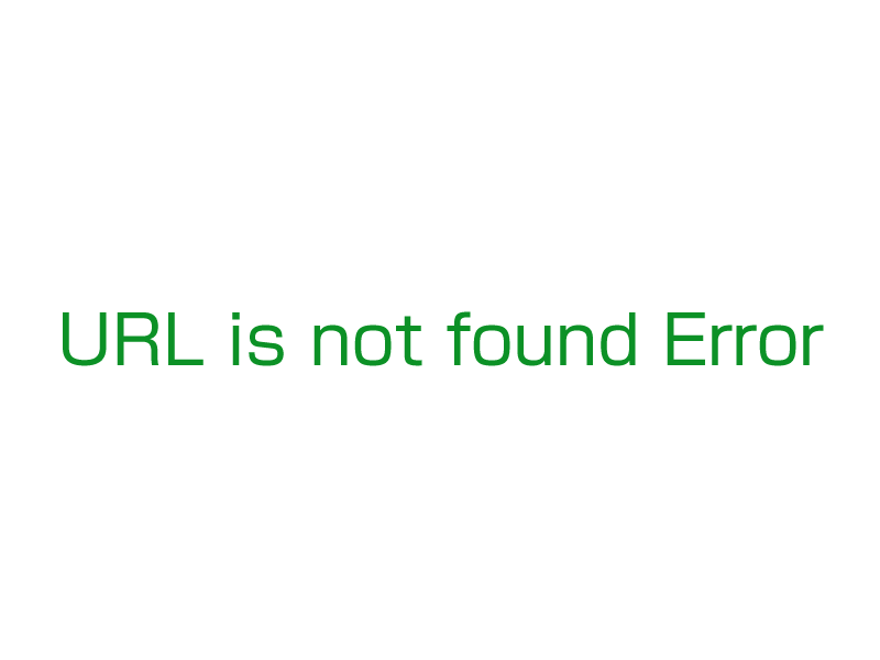 url is not found errer
